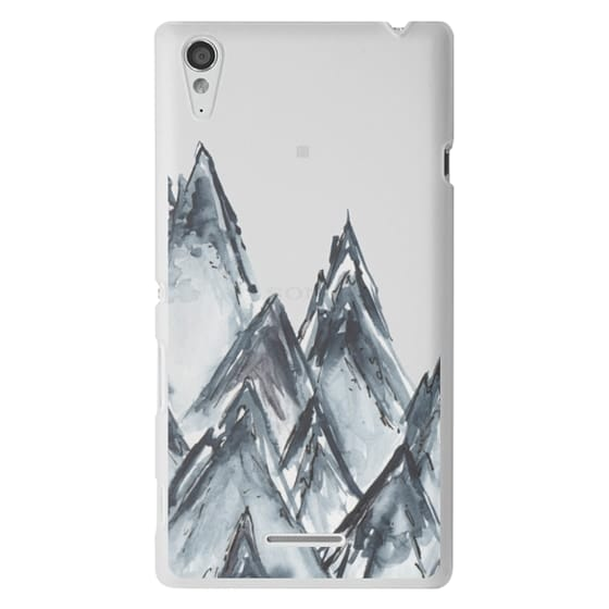 Sony T3 Cases - mountain scape