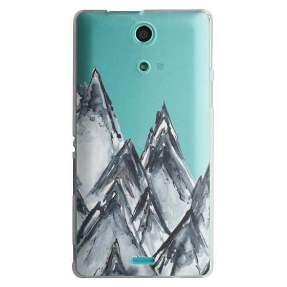 Sony Zr Cases - mountain scape