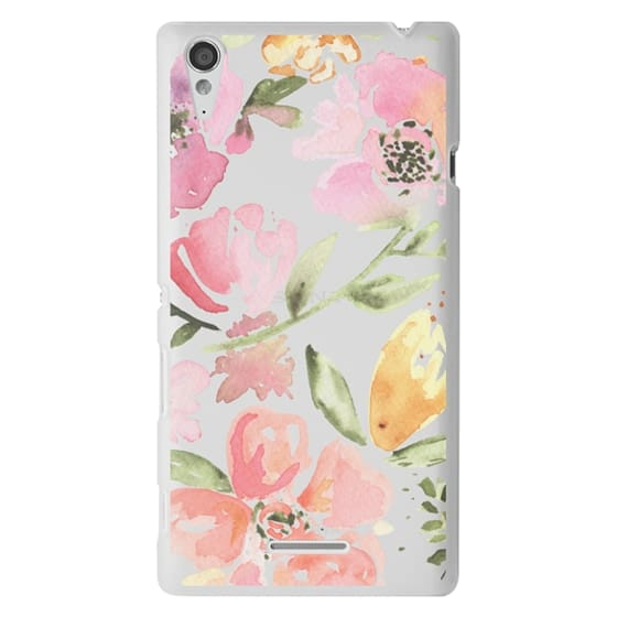 Sony T3 Cases - Floral