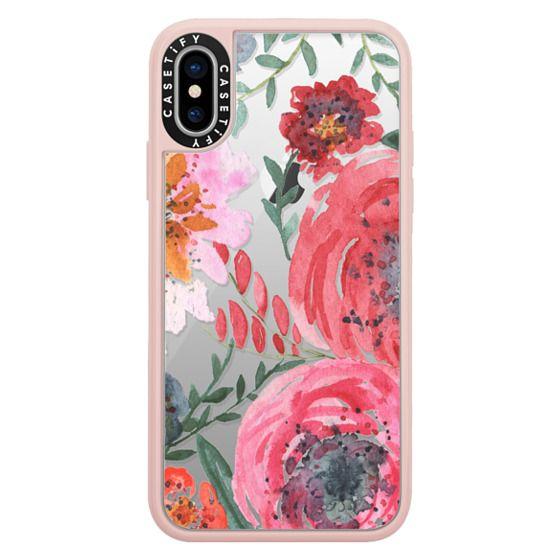 iPhone X Cases - sweet petals