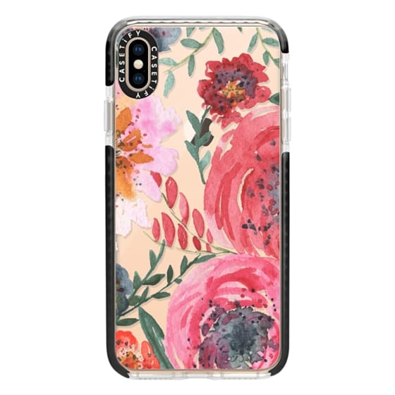 iPhone XS Max Cases - sweet petals