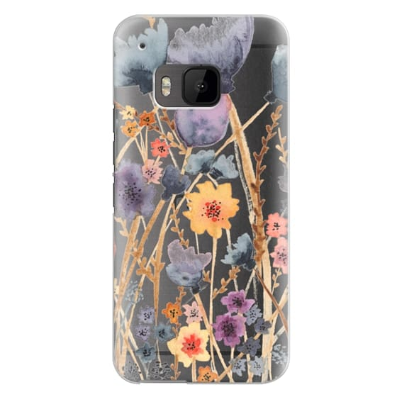 Htc One M9 Cases - floral field