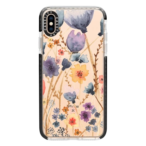 iPhone XS Max Cases - floral field