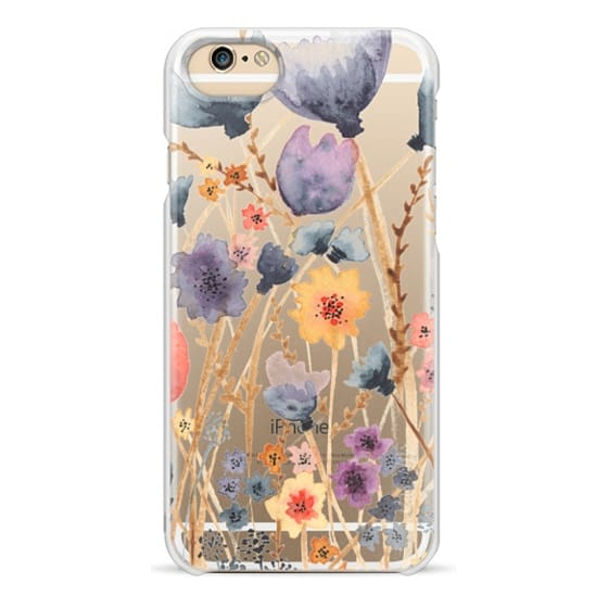 iPhone 6 Cases - floral field