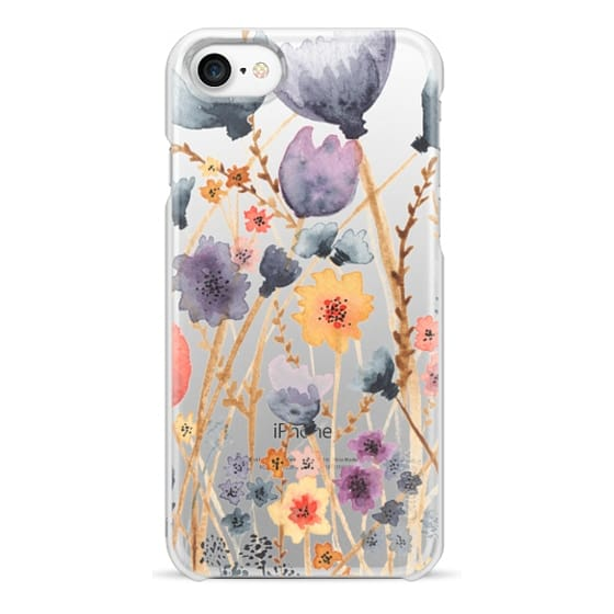 iPhone 7 Cases - floral field