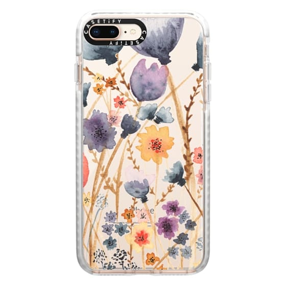 iPhone 8 Plus Cases - floral field