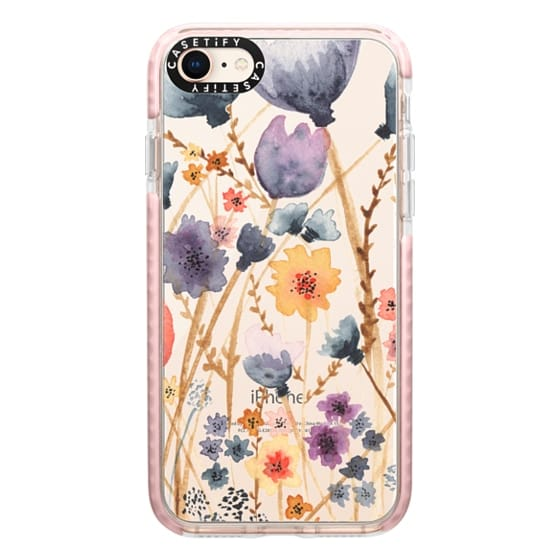 iPhone 8 Cases - floral field