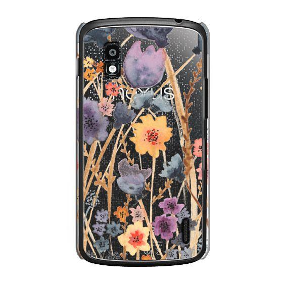 Nexus 4 Cases - floral field