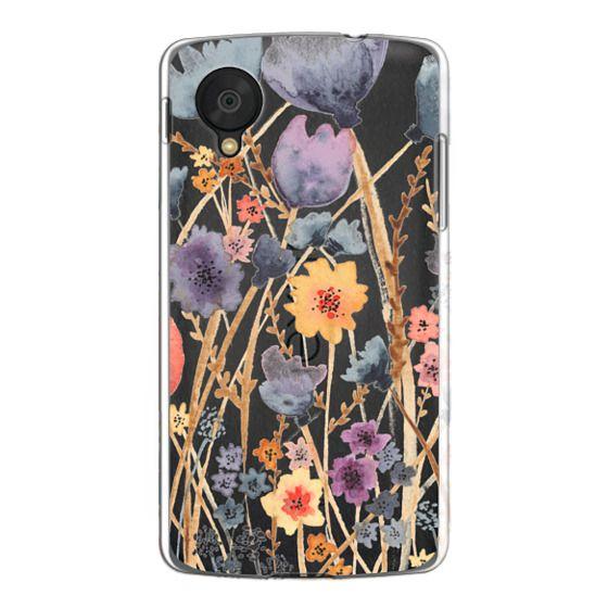 Nexus 5 Cases - floral field