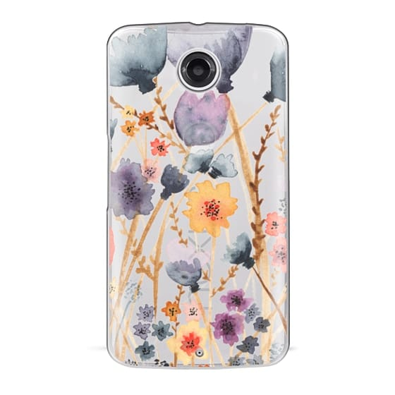 Nexus 6 Cases - floral field