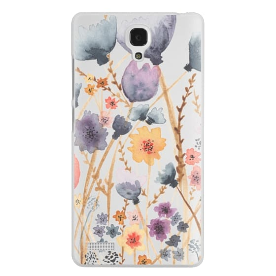 Redmi Note Cases - floral field
