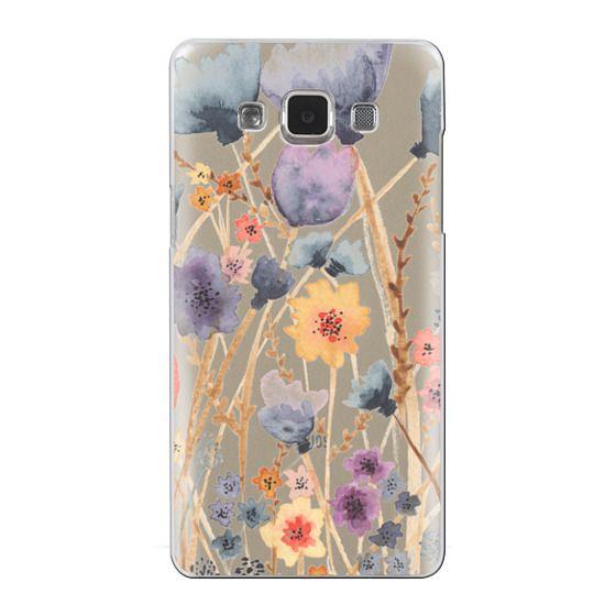 Samsung Galaxy A5 Cases - floral field