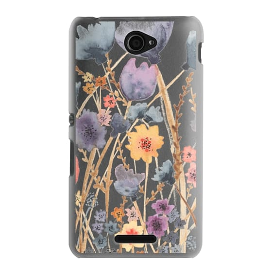 Sony E4 Cases - floral field