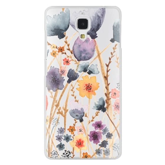 Xiaomi 4 Cases - floral field