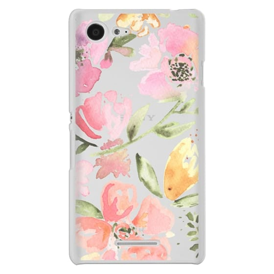 Sony E3 Cases - Floral