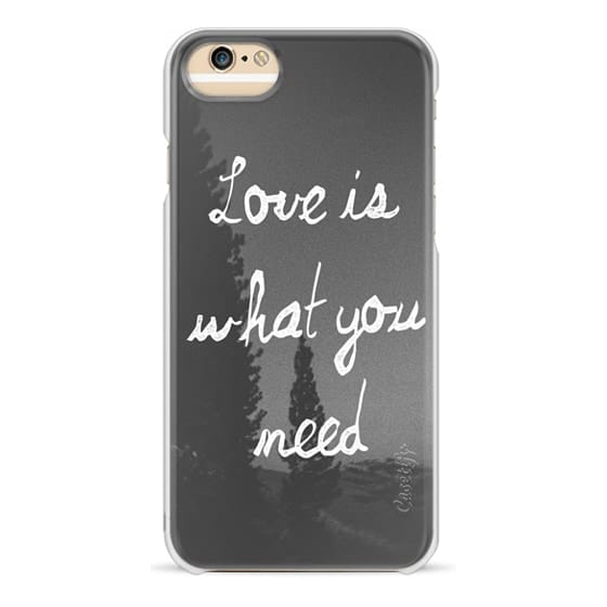 iPhone 6 Cases - Love is
