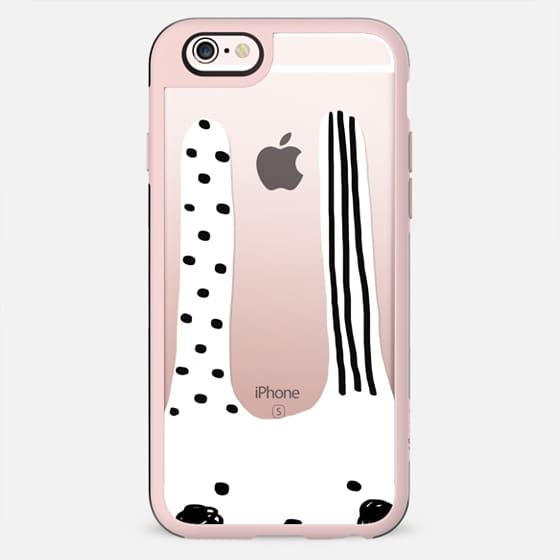 Black and white bunny-chan  - New Standard Case