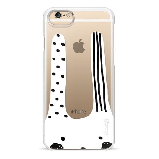 iPhone 6s Cases - Black and white bunny-chan