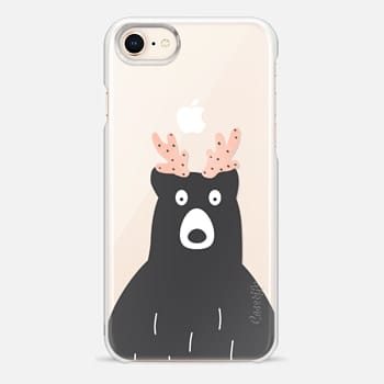 iPhone 8 Case I am a bear or a deer?