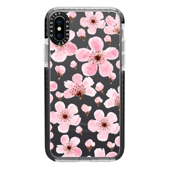 iPhone X Cases - Sakura II