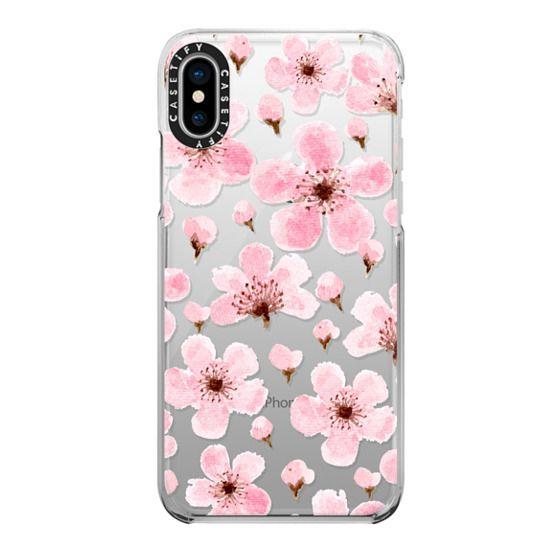 iPhone X Cases - Sakura II
