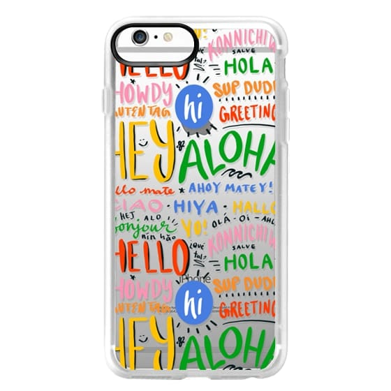 iPhone 6 Plus Cases - Hello Around the World