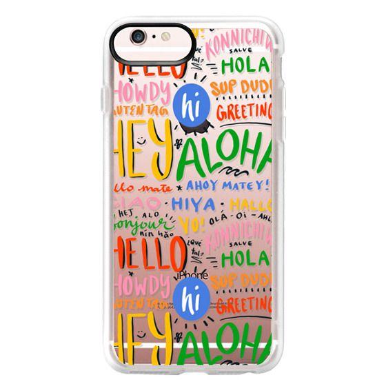 iPhone 6s Plus Cases - Hello Around the World