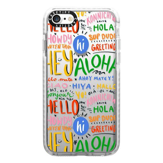 iPhone 7 Cases - Hello Around the World