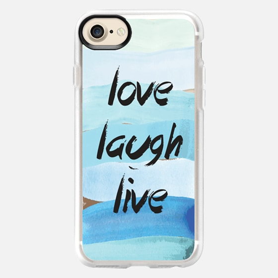 Watercolor Love Quote - Wallet Case