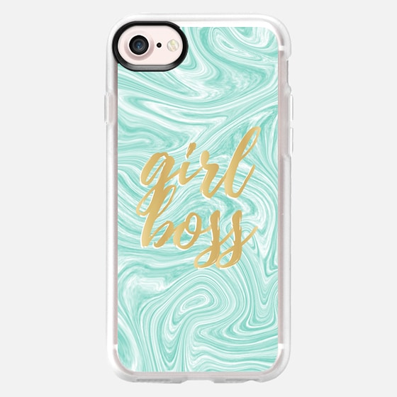 Girl Boss Marble - Classic Grip Case
