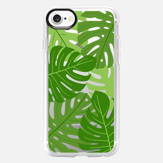 Tropic palm leaves - Classic Grip Case