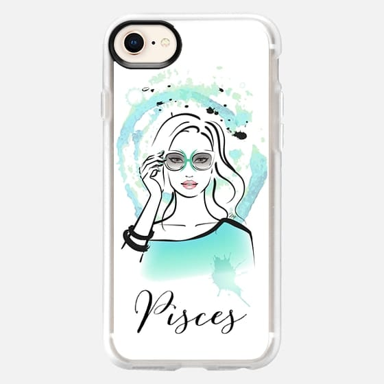 PISCES Zodiac Horoscope Sign - Snap Case