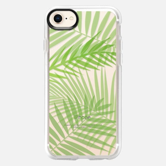Transparent Tropic Leaves - Snap Case