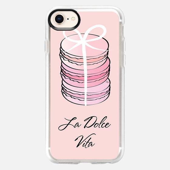 Pink Macaron Dolce Vita - Snap Case