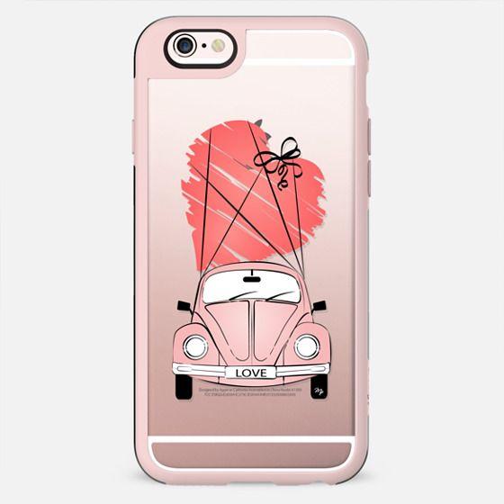 Pink Love Car
