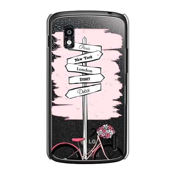 Nexus 4 Cases - Pink Bike Travels