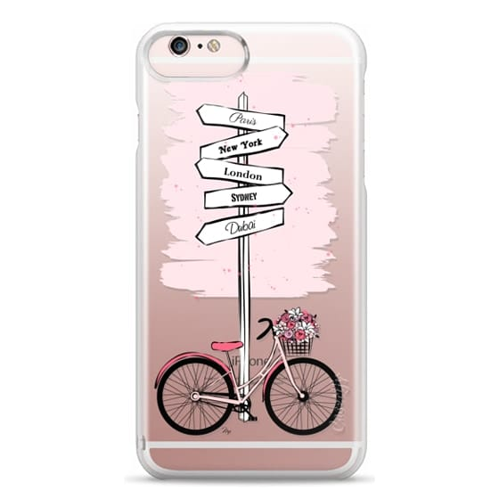 iPhone 6s Plus Cases - Pink Bike Travels