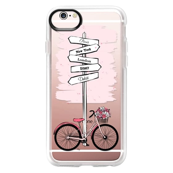 iPhone 6s Cases - Pink Bike Travels