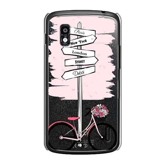 Nexus 4 Cases - Pink Bike Travels