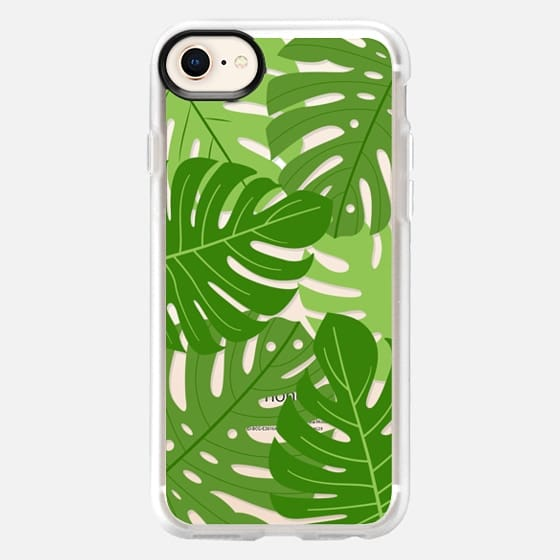 Tropic palm leaves - Snap Case