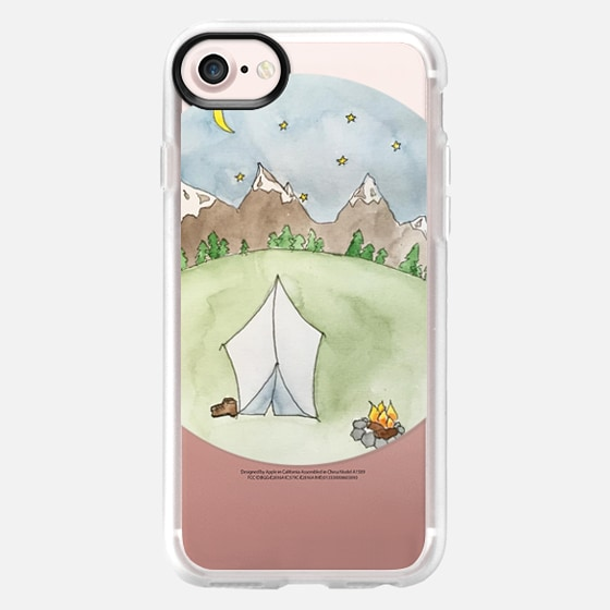 Camping - Wallet Case