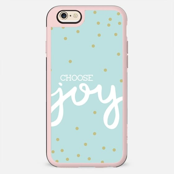 Choose Joy Confetti (Mint) - New Standard Case