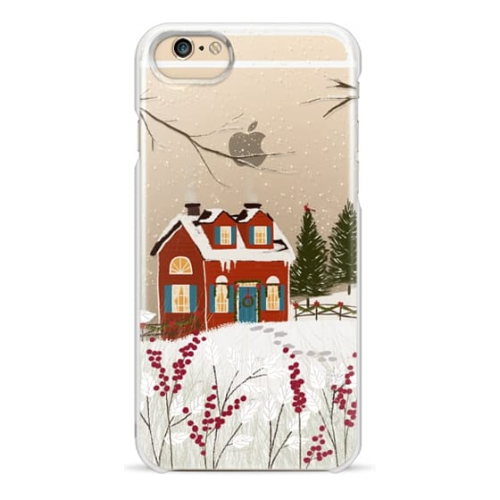 iPhone 6 Cases - Christmas Cottage