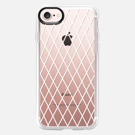 Fishnet White - Classic Grip Case