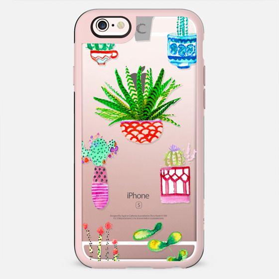 Watercolour Cacti - New Standard Case