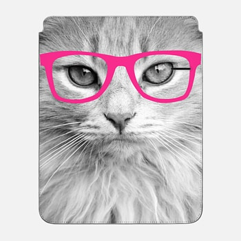 "iPad Pro 12.9"" Sleeve Hippest Cat Pink"