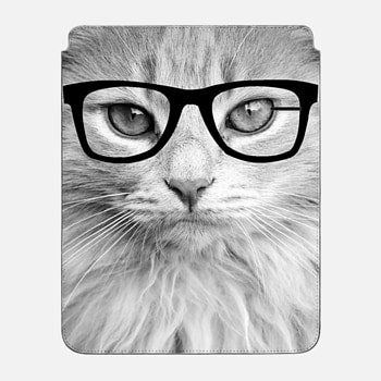 "iPad Pro 12.9"" Sleeve Hippest Cat"