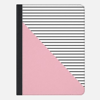 iPad Air 2 ケース Pink and stripes