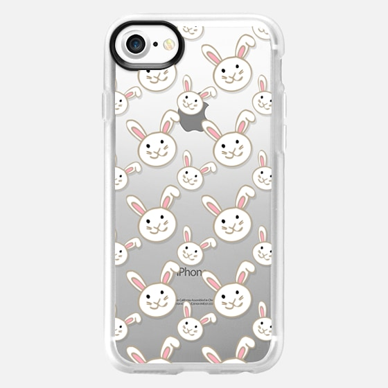 Bunnies Transparent - Wallet Case