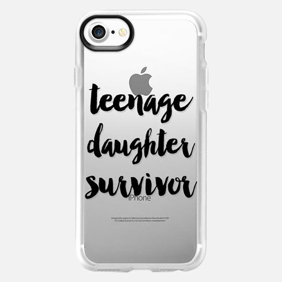Teenage Daughter Survivor - Wallet Case